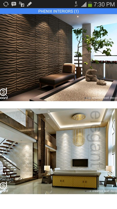 Interiors design 3d wall decor properties nigeria for Interior decoration nairaland