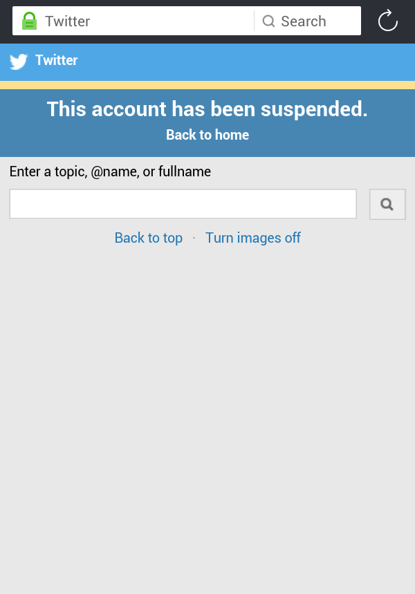 Breaking: Niger Delta Avengers Twitter Handle Blocked