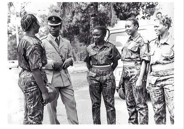 Check Out Nigerian Female Soldiers Back In The 60's
