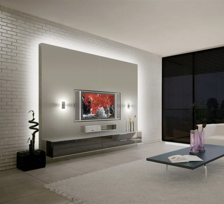 False Wall Designs For Tv : False ceiling and tv walls pictures properties nigeria