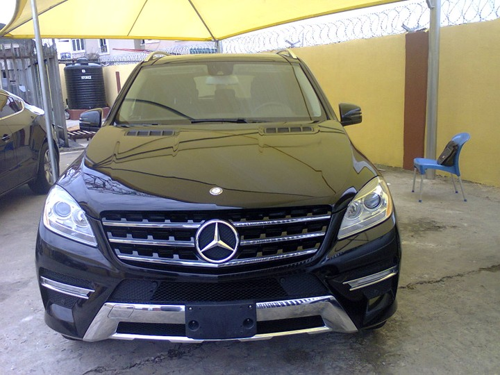 Mercedes benz ml 350 2013 model autos nigeria for Mercedes benz 350 ml 2013