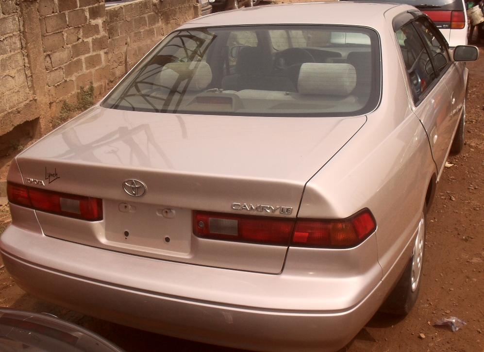 sparkling 1999 toyota camry for sale sold sold sold autos nigeria. Black Bedroom Furniture Sets. Home Design Ideas