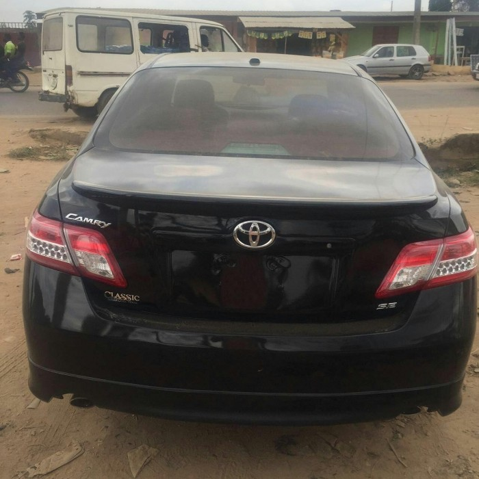 2010 toyota camry se autos nigeria. Black Bedroom Furniture Sets. Home Design Ideas