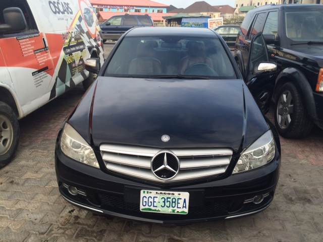 Registered 2008 mercedes benz c230 v6 sold autos nigeria for 2008 mercedes benz c230