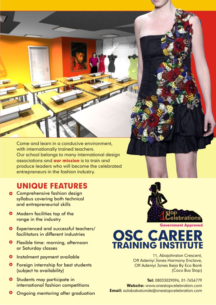 Fashion And Design School In Nigeria School Style