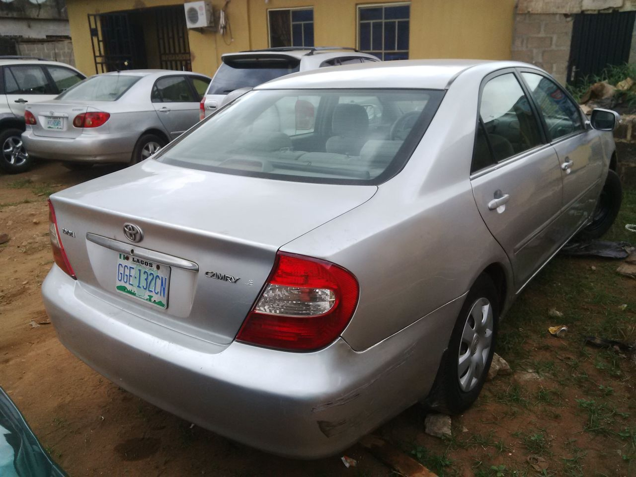 nigeria uesd toyota camry 04 autos nigeria. Black Bedroom Furniture Sets. Home Design Ideas
