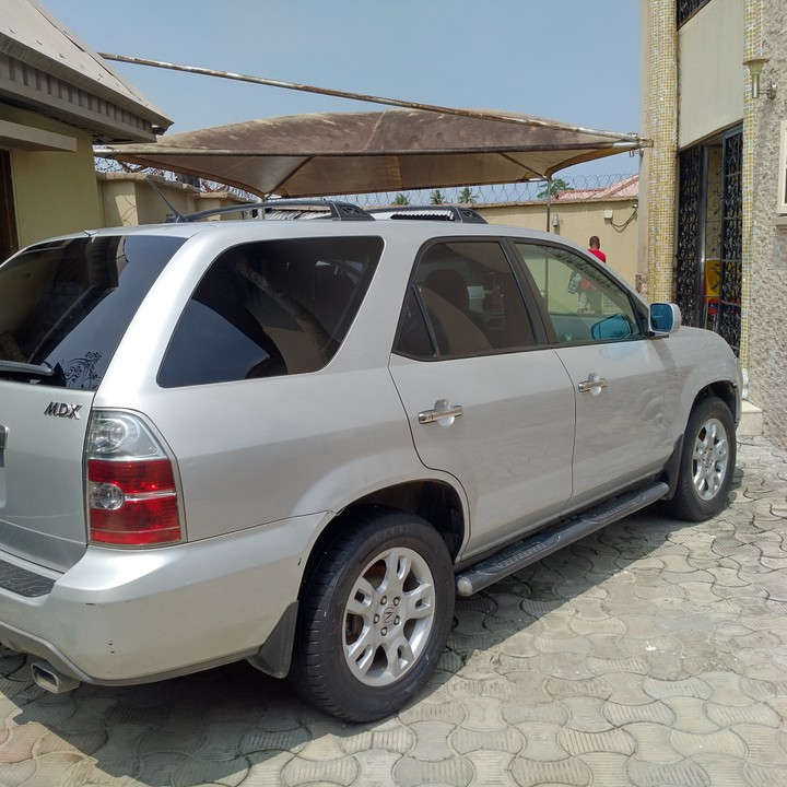 2004 Acura MDX Registered