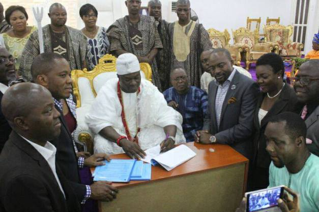 Ooni Signs MOU With US Company To Build $1.4bn Technology, Agric Hub In Ife