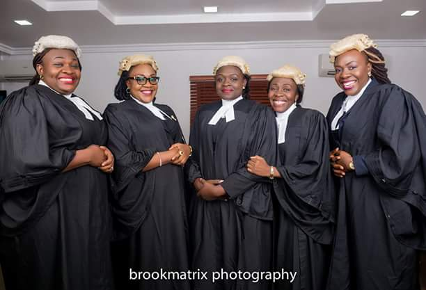 Meet This Nigerian Couple With 5 Daughters, And All Of Them Are Lawyers[Photos]