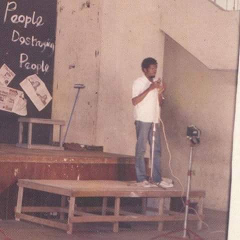Throwback Photos Of Basketmouth You've Never See Before (pics)
