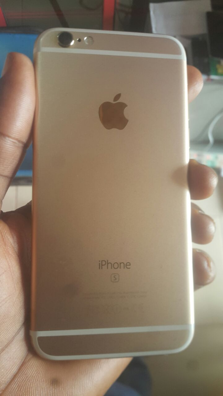 gold iphone 6s uk used gold iphone 6s 64gb for in ibadan for 17ok 10711
