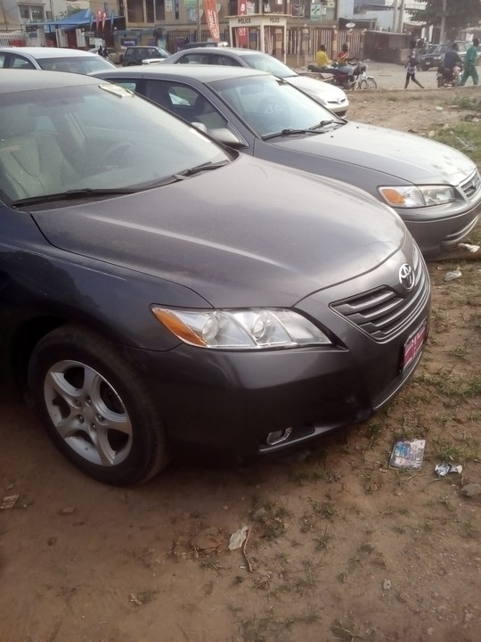 toks 2008 model toyota camry leather interior for sale autos nigeria. Black Bedroom Furniture Sets. Home Design Ideas