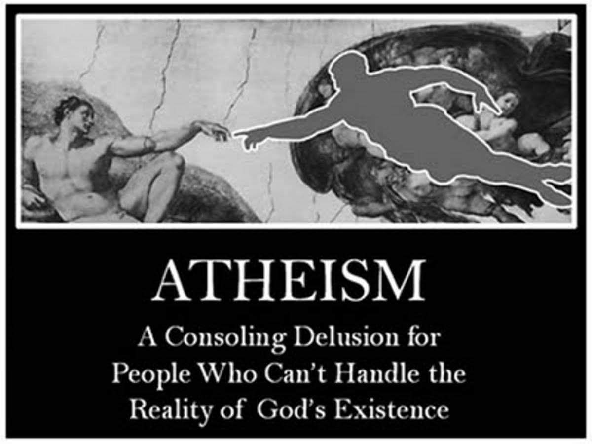 religion and the existence of god in the views of an atheist Why people do not believe in god, an atheist's point of view existence of the creator is obvious from what was son of abraham start this religion 213,702 views.
