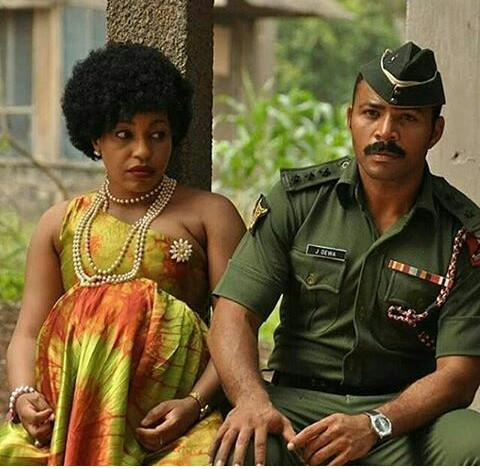 Rita Dominic & Ramsey Nouah Star In A New Movie About The Aborted 1976 Coup (Pics)