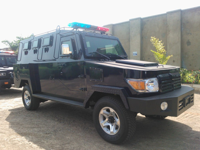 Photos Of Made-In-Nigeria Armoured Patrol Vehicle