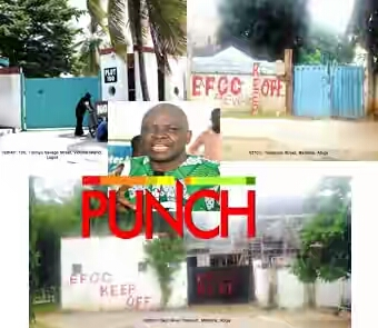 EFCC Quizzes Olu Falae, Seizes Fayose's Multimillion Naira Houses (Photo)