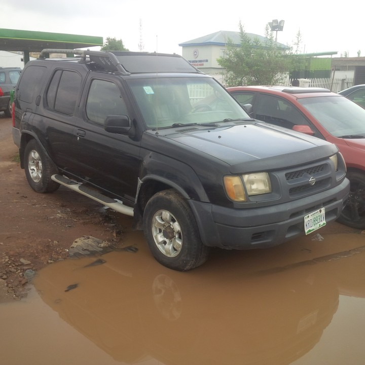 neatly used nissan xterra jeep 2001 model for sale 650k autos nigeria. Black Bedroom Furniture Sets. Home Design Ideas