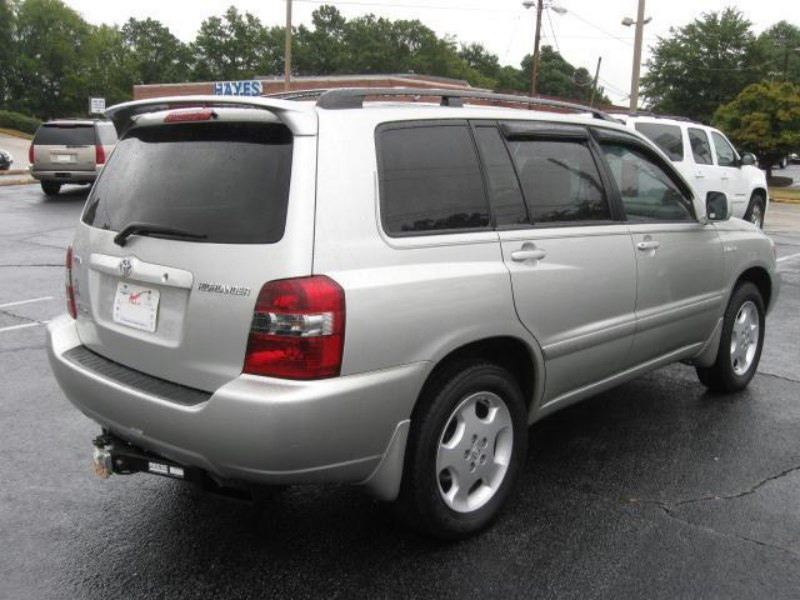 Re ARRIVED LIMITED TOYOTA HIGHLANDER RD ROW Preordered - 2004 highlander