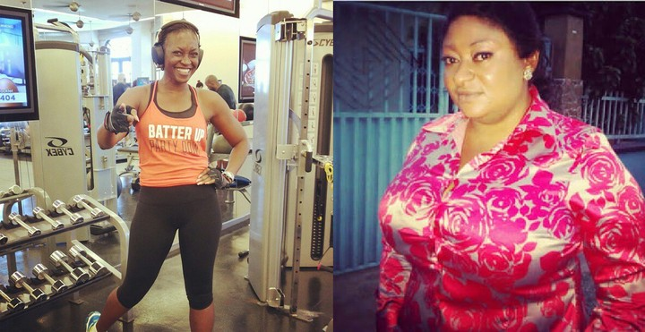 Ronke Oshodi-Oke At 42 Vs Kate Henshaw At 45: Spot The Difference (See Photos)