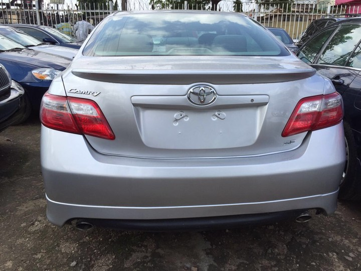 sold 2 units toyota camry sport edition 2008 model autos nigeria. Black Bedroom Furniture Sets. Home Design Ideas