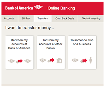 Bank Of America Wire   Bank Account Available For Online Transfer Transactions And Cash