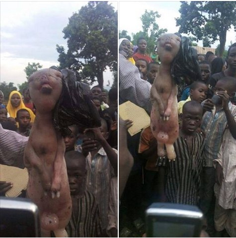 Shock In Taraba As Goat Gives Birth To Baby In Human Form (Photos)