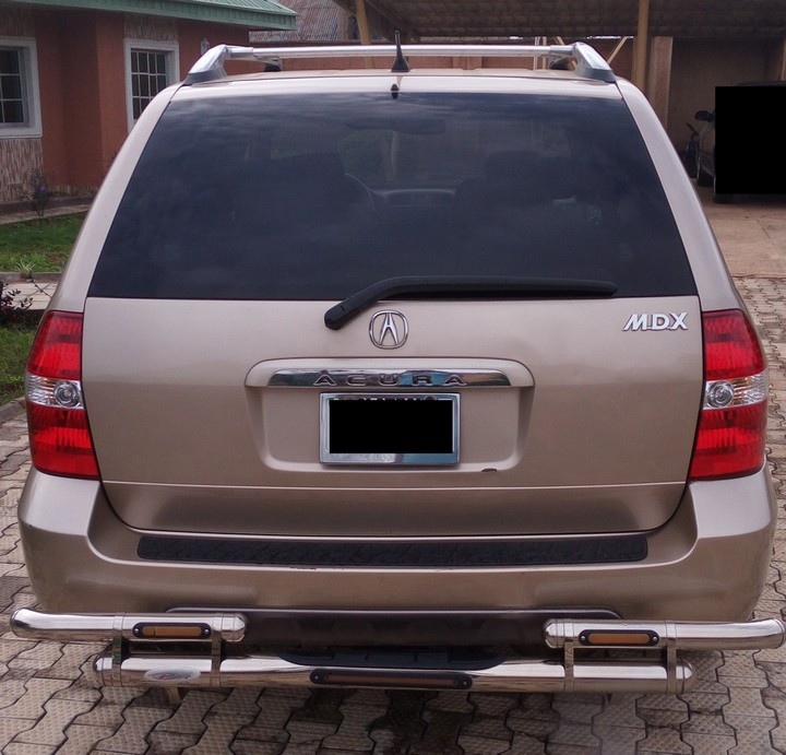 2005 Acura Mdx For Sale: 2002 Acura MDX For 1.9m