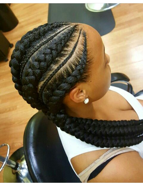 Amazing 10 Latest And Stunning Ghana Braids With Pictures Fashion Nigeria Short Hairstyles For Black Women Fulllsitofus