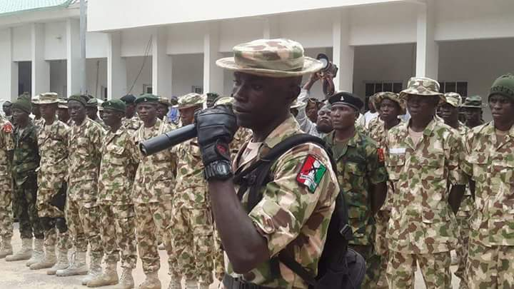 250 Civilian Joint Task Force Recruited Into Nigerian Army (Photos)