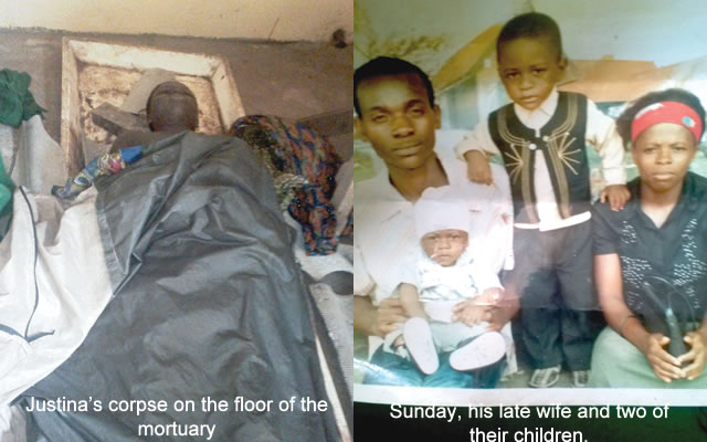 Death By Fallen Tree: Pregnant Woman Rots In Ondo Mortuary Over Culture (See Photo)