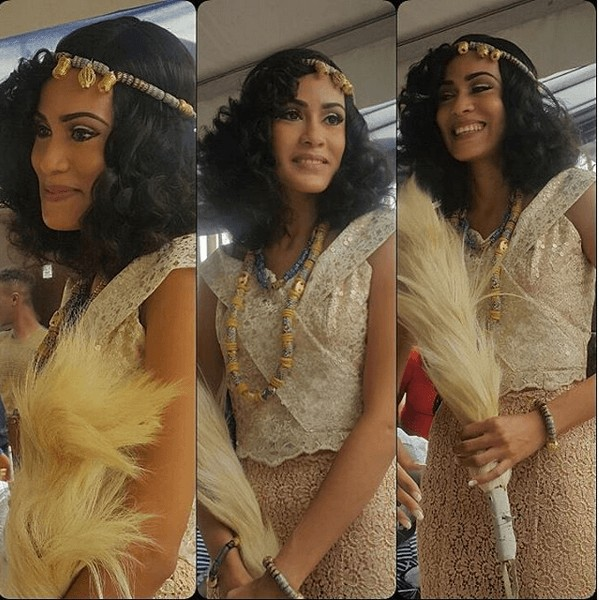 Photos From Actress Juliet Ibrahim's Sister's Traditional Wedding