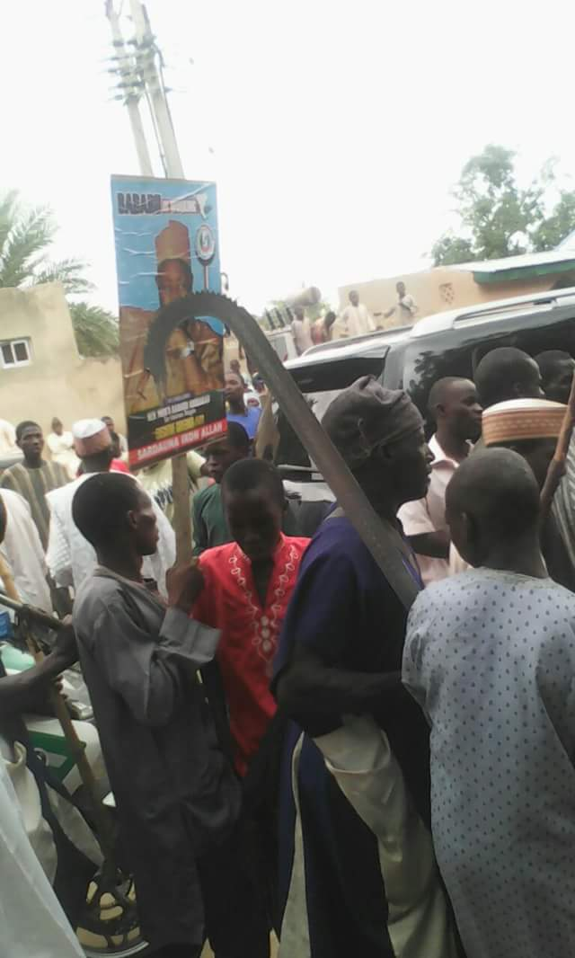 Supporters Of Jigawa Governor Attack Ex PDP Candidate, Ringim (Photos)