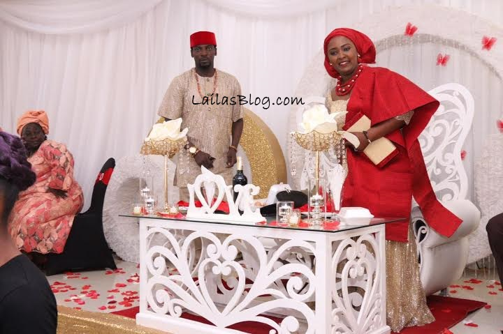 Empress Njamah's Brother, Actor John Njamah Weds Cameroonian Girlfriend (Pics)