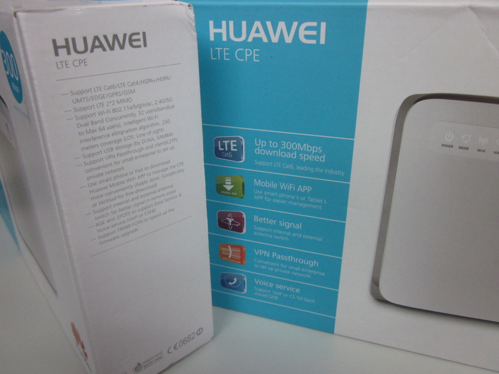 Huawei E5186 Unlocked 3g 4g 5g 300 Mbps Lte-a Cat6 Cpe Router - B593
