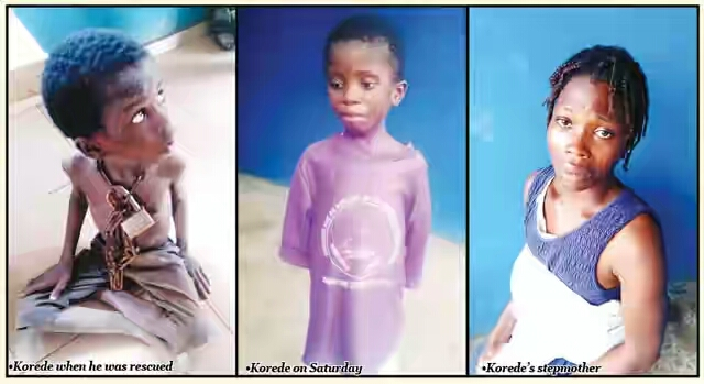 9-Year-Old Boy Who Was Chained In Ogun By His Pastor Father Speaks
