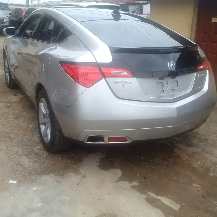 SOLD! SOLD!! Tokunbo 2010 Acura ZDX