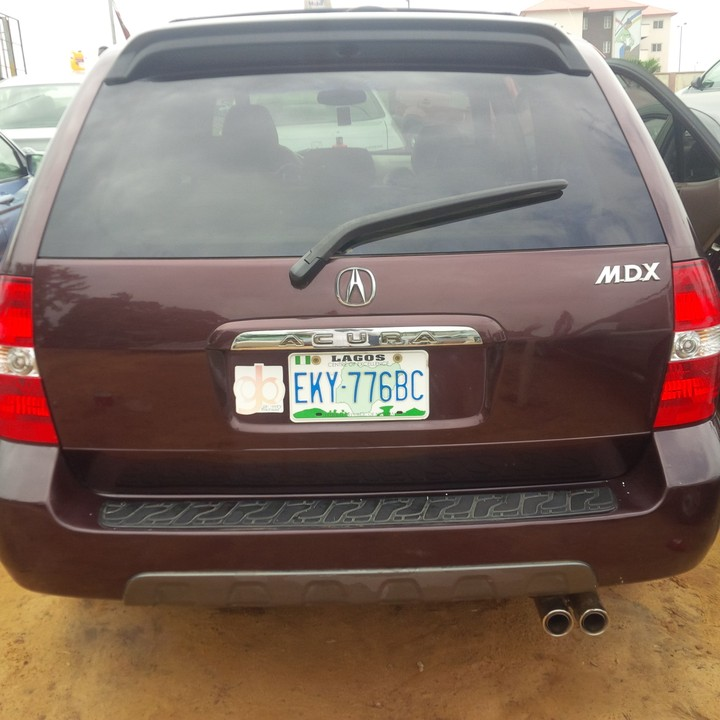 Super Clean Registered 2003 Acura MDX (3rows Seater