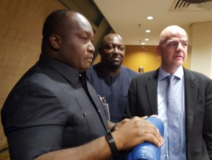 Infantino's Visit: FIFA Keys Into 'Football Made In Anambra' Project (Picture)