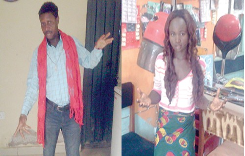 Pastor Exhumes Pot Of Charms From A Salon In Abuja (See Photo)