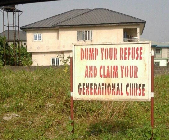Funny Sign Boards You'll See Only In Nigeria - Jokes Etc - Nigeria