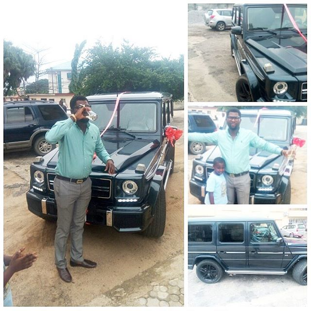 Nigerian Lady Actually Bought That Trending G-Wagon For Her Man (New Pics, Video)
