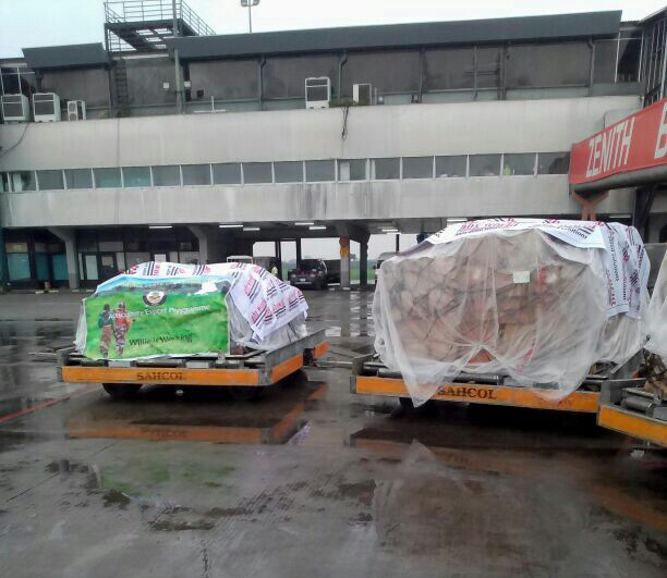 Anambra Agricultural Exports Spotted At Lagos Airport (Pictures)