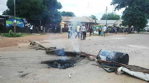 Two Die, Nasarawa Poly Shut, As Students Protest Death Of Colleague (See Photos)