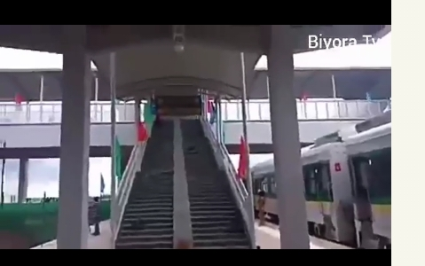 The New Abuja-Kaduna Train/Railway Station: See The Beauty And Comfort (video)