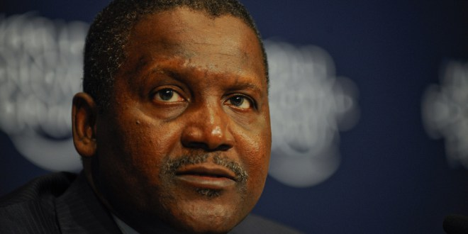 Dangote Drops Off List Of World's 100 Richest Men