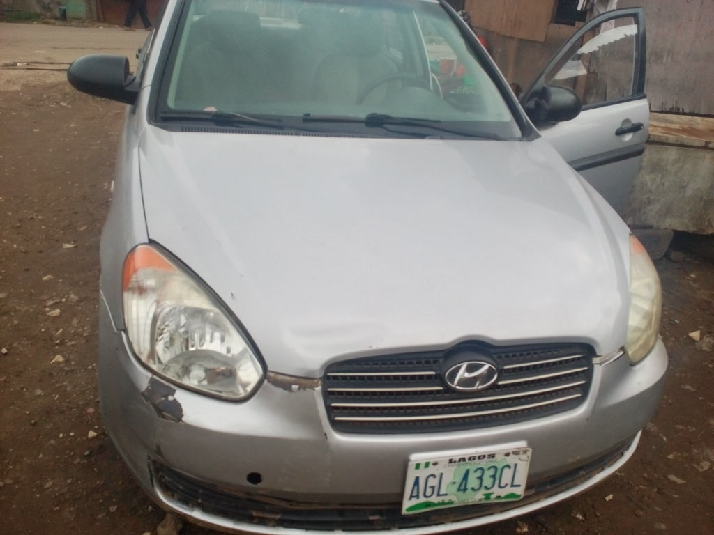 Location: Ikeja Price: N480,000. Re: For Sale- Registered 2007 Hyundai  Accent MANUAL ...