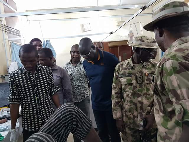 Buratai Visits Soldiers, UN Staff And Others Wounded By Boko Haram (See Photos)