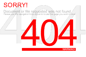 Here Is The Meaning Of 404 Error Message When Trying To Load