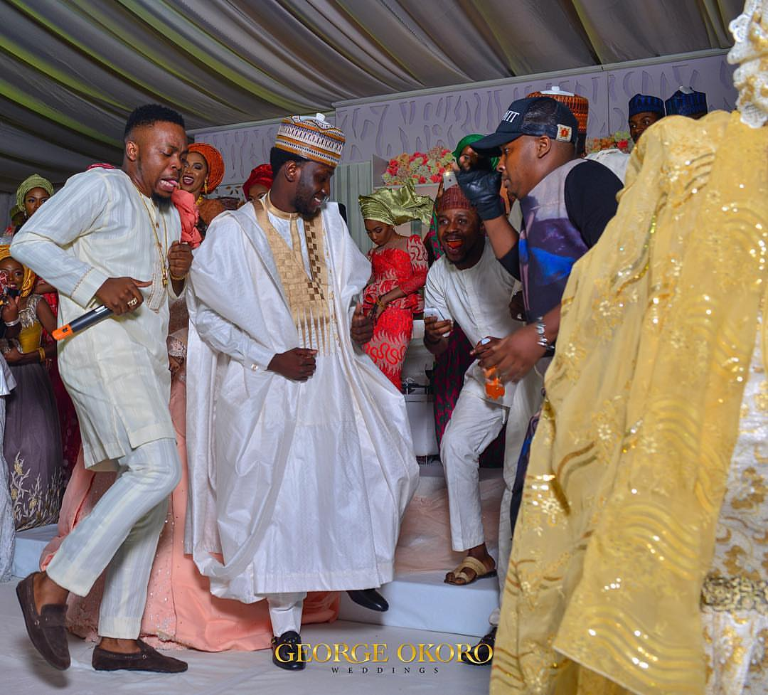 Olamide Performs At The Wedding Of Faisal and Zara In Abuja(pics