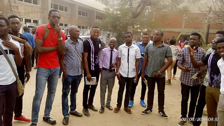 Eviddy, Tallest Student In The University Of Abuja (Evidence Ebuka)